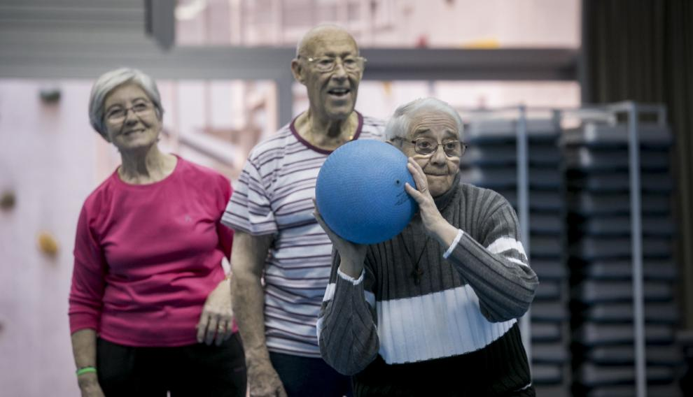 Heraldo de Aragón: Entrenarse para envejecer