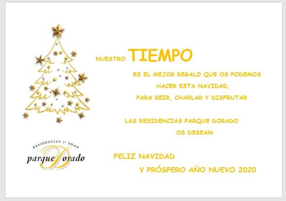 Feliz Navidad Parque Dorado
