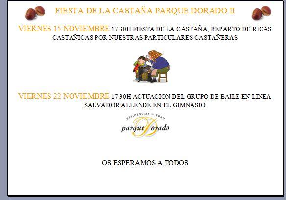 Fiesta de la castaña Zaragoza