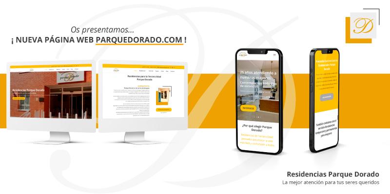 Estrenamos nueva web Parque Dorado: más visual, intuitiva y usable